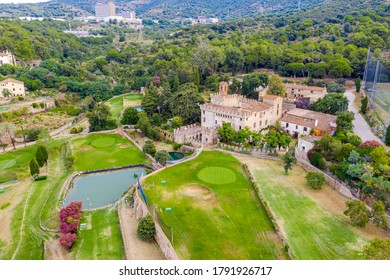 Godmar Castle is a fortified farmhouse, also known as Cal Comte, located in the Pomar de Dalt neighborhood of the Catalan town of Badalona Spain. It is listed as a Cultural Asset of National Interest