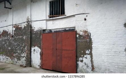 The godown door