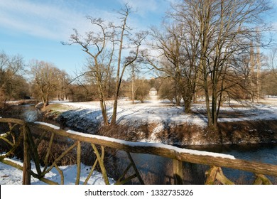 Goethe Gartenhaus Weimar in winter