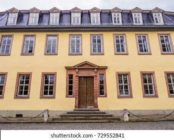 Goethe House, Goethe-Nationalmuseum, Weimar. Germany