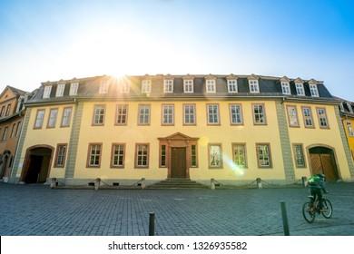 Goethe house in Weimar, Germany