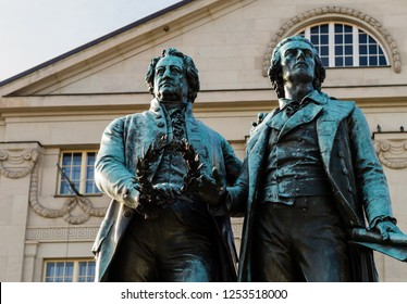 Goethe and Schiller Monument