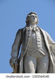 Goethe statue rome
