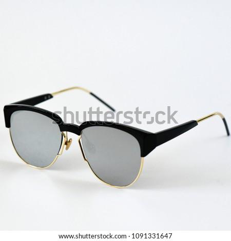 de1396d424d0 goggles for girls. sunglasses for women. stylish designer accessory. glasses  on a white