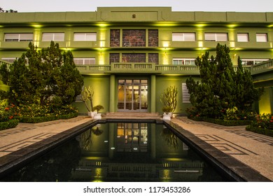 GOIANIA, BRAZIL - SEPTEMBER 01, 2018:These are buildings where the headquarters of the State Government in Civic Square of Goiania city. On September 01, 2018, Goiania, Brazil.