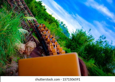 Going around the rollercoaster bend