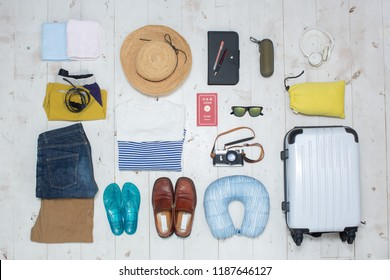going holiday trip in summer - Shutterstock ID 1187646127