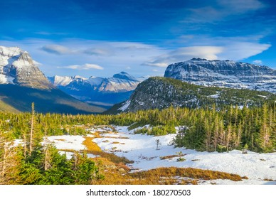 Going to the Sun Road in Glacier National Park, Montana, United States