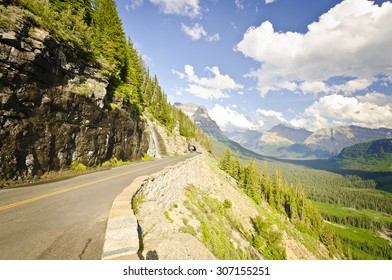 Going to Sun Road at Glacier National Park