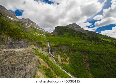 Going to the sun road, Glacier National Park. Montana