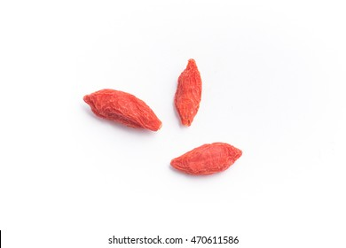 Goji Berry isolated