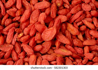 Goji, goji berry or wolfberry is the fruit have properties medicine.