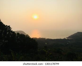 Gokarna beach sunset nature