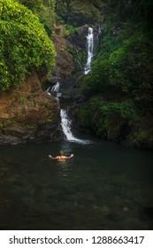 Gokarna- December 24: Vibhuti Falls on December 24, 2018, Gokarna, Karnataka, India