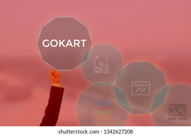 GOKART - technology and business concept