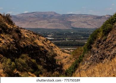 Golan Heights Trek Jalaboun Stream