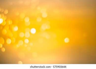 gold abstract bokeh background, for graphic background.