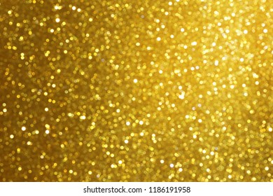 gold abstract bokeh glitter texture background
