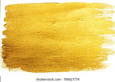 Gold acrylic background. Bright background