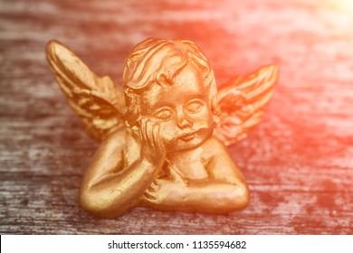 Gold angel guardian