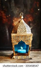Gold Arabic Lantern
