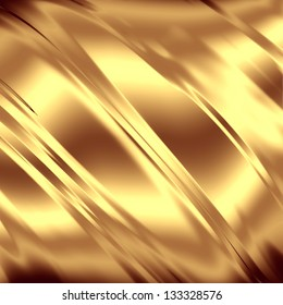 Gold artistic texture