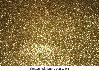 gold background Abstract Bokeh Christmas.