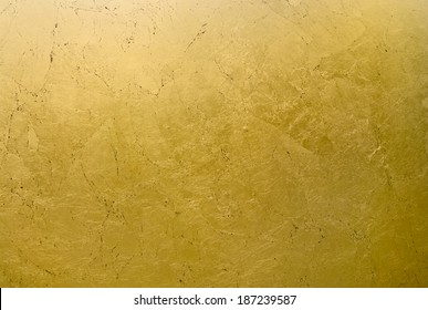 Gold background with cracks