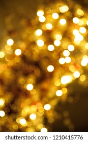 Gold background light