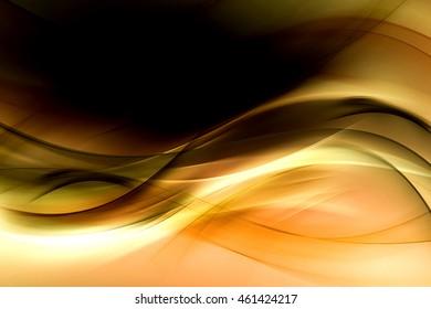 Gold Background Technology Theme