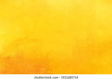 Gold background or texture and gradients shadow. gold polished metal steel texture abstract background.
