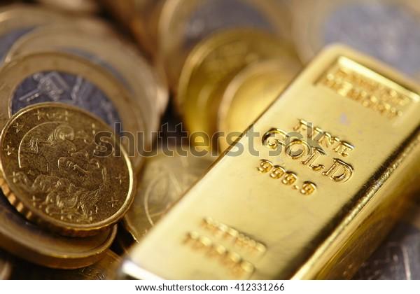 Goldbarren-Konzept