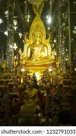 Gold bhudda in thailand
