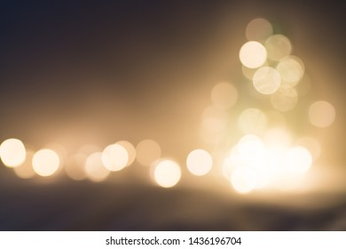 Gold bokeh. Glitter abstract background. Background and wallpaper.