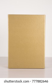 Gold Box on white background.