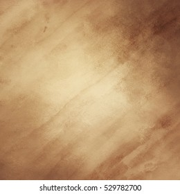 gold brown abstract background design with watercolor paper texture