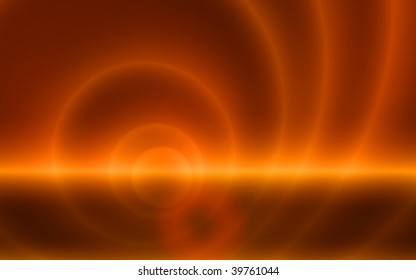 Gold and brown abstract wallpaper