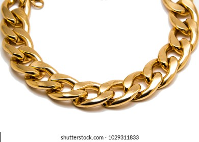 Gold Necklace Images, Stock Photos & Vectors | Shutterstock