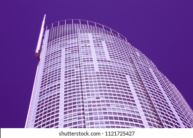 GOLD COAST, AUSTRALIA - MARCH 23, 2009: Q1 Tower in Gold Coast, Australia. The building finished in 2005 is 323m tall and is world's 3rd tallest residential tower (2012).
