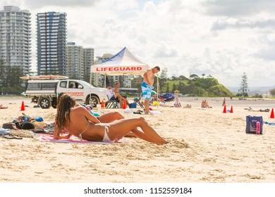 Queensland beach girls