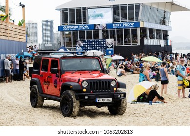 Gold Coast, Queensland / Australia March 12th 2018. The Quiksilver Pro starts on the Gold Coast.