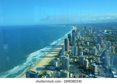Gold Coast Skyline Landscape View