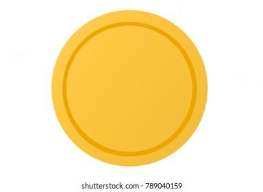 Gold Coin Illustration