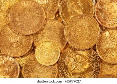 gold coins, international