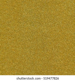 Gold color glitter texture macro close up background.