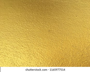 Gold color texture wall