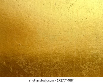 Gold color wall surface texture background design