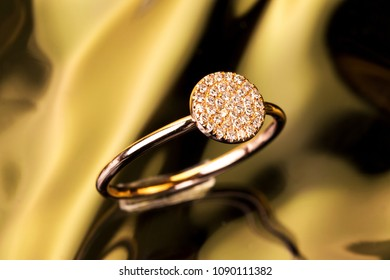 gold diamond jewelry ring necklace