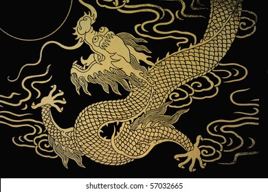 The gold dragon 8