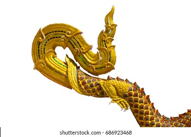 Gold dragon scales background texture surface decoration.